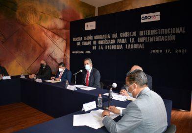 Llama Ramírez Retolaza a trabajar coordinadamente con miras a la implementación de la reforma laboral en Querétaro